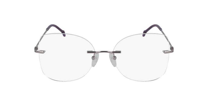 Lunettes de vue femme IDEALE-12 violet - Vue de face
