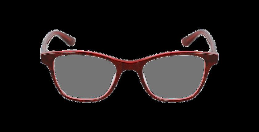 Lunettes de vue enfant ANGELE rouge - Vue de face