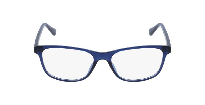 Lunettes de vue femme RZERO6 bleu - Vue de face