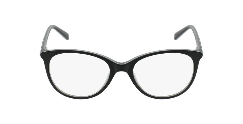 Lunettes de vue femme JENNY noir - Vue de face