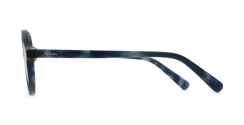Lunettes de vue enfant HARRY bleu/écaille - Vue de côté