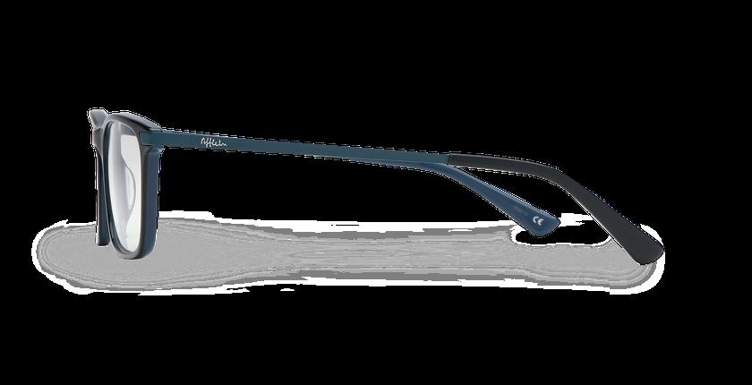 Lunettes de vue homme MARIUS bleu - Vue de côté