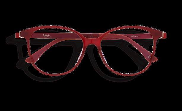 Lunettes de soleil femme MAGIC 29 BLUEBLOCK rouge - danio.store.product.image_view_face