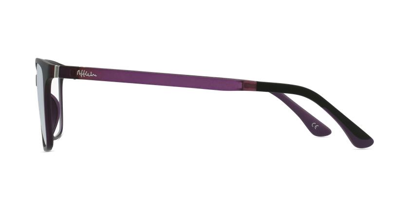 Lunettes de vue femme MAGIC 60 violet - Vue de côté