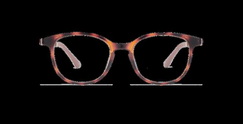 Lunettes de vue femme SMART TONIC 09 écaille - Vue de face
