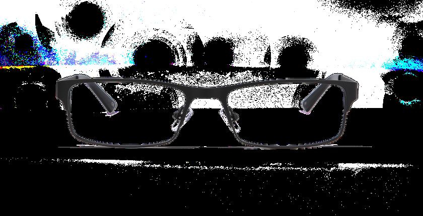Lunettes de vue homme HUGO noir - Vue de face