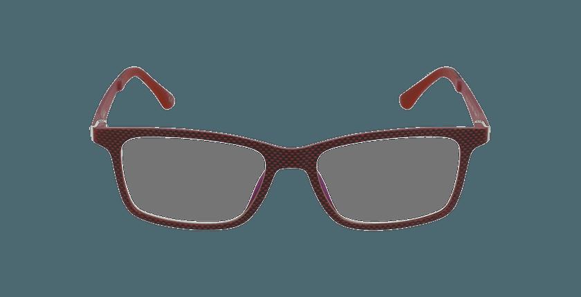 Lunettes de vue homme MAGIC 32 BLUEBLOCK rouge - Vue de face