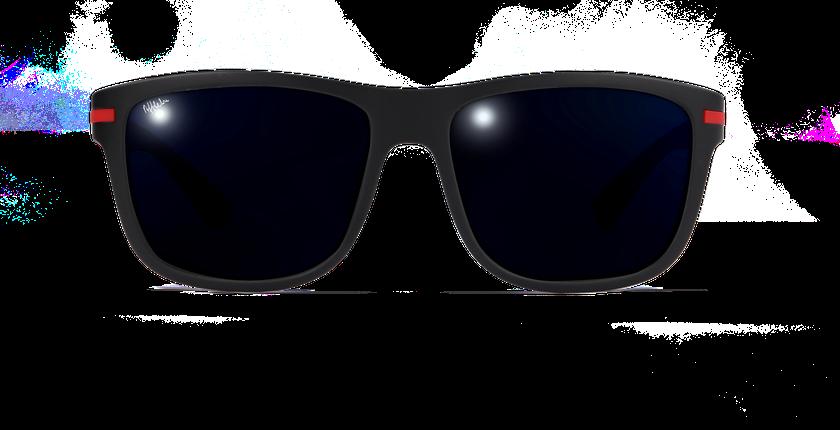 Lunettes de soleil homme DIEGO noir - Vue de face