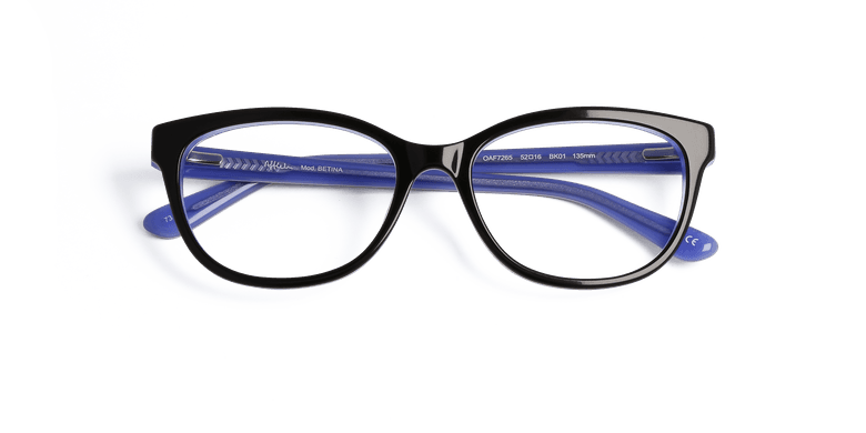 Lunettes de vue femme BETINA noir