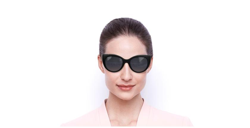 Lunettes de soleil femme SK0202 noir - Vue de face