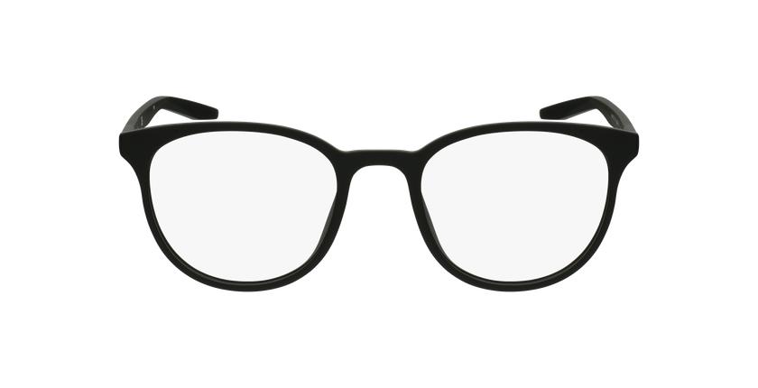 Lunettes de vue homme 7128 noir - Vue de face