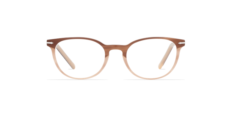 Lunettes de vue femme NANTUA marron