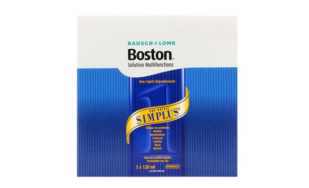 Boston Simplus 3x120ml
