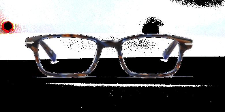 Lunettes de vue homme DUKE bleu/écaille