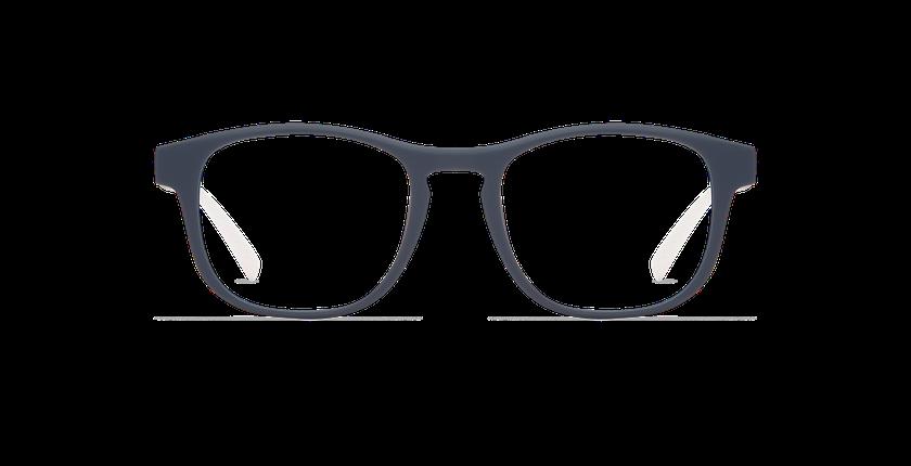 Lunettes de vue DUNK bleu/blanc - Vue de face