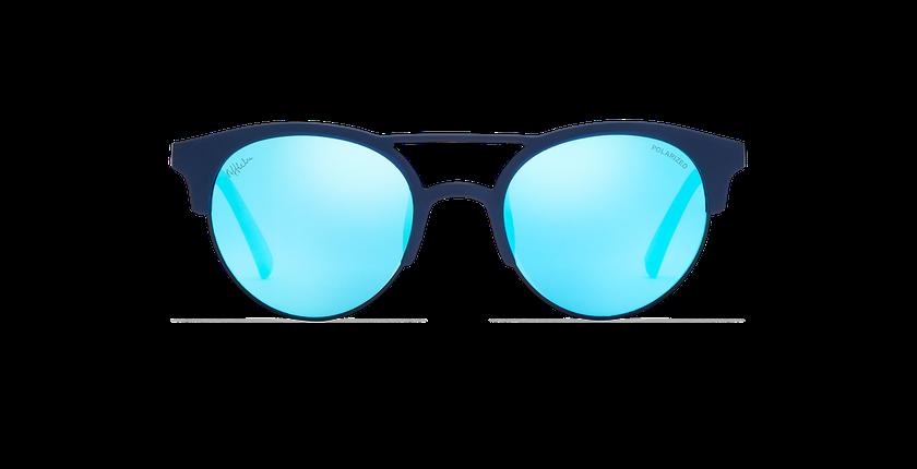 Lunettes de soleil femme OLHAO bleu - Vue de face