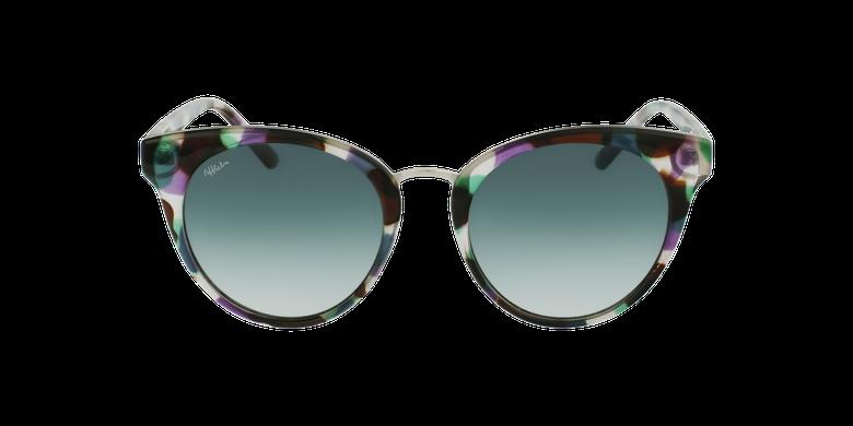 Lunettes de soleil femme MAUD écaille/violet