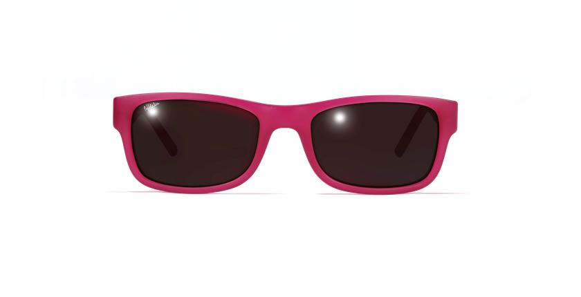 Lunettes de soleil enfant SAE5940 rose/violet - Vue de face