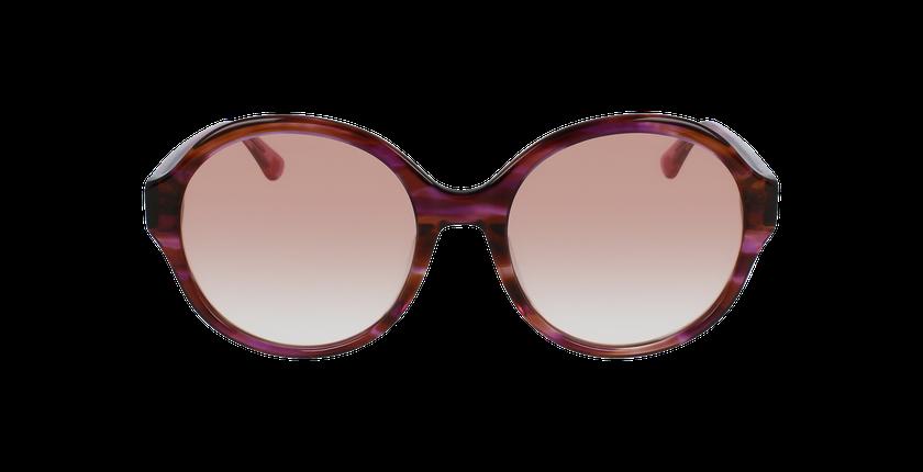 Lunettes de soleil femme PK0019 rose - Vue de face