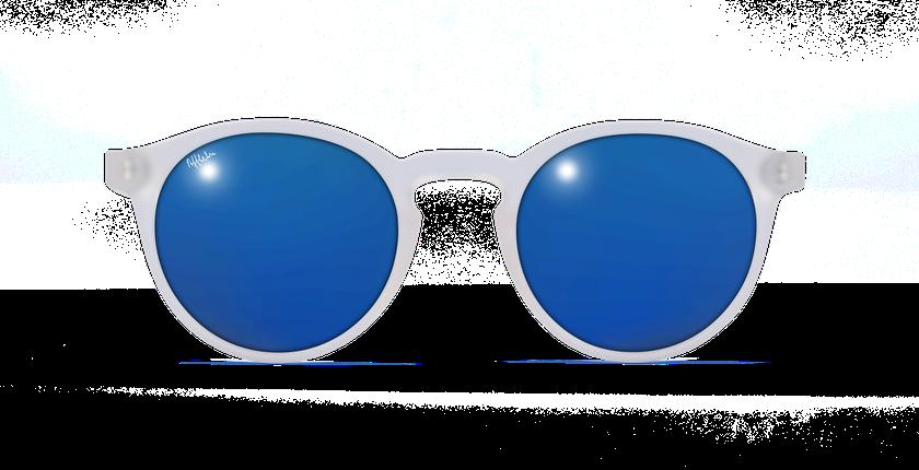 Lunettes de soleil femme FROZZY cristal - Vue de face