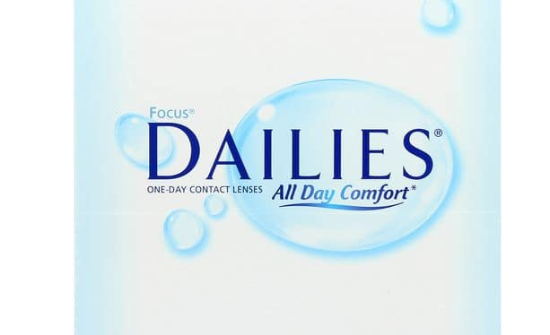 Lentilles de contact Dailies All Day Comfort 90L - Vue de face