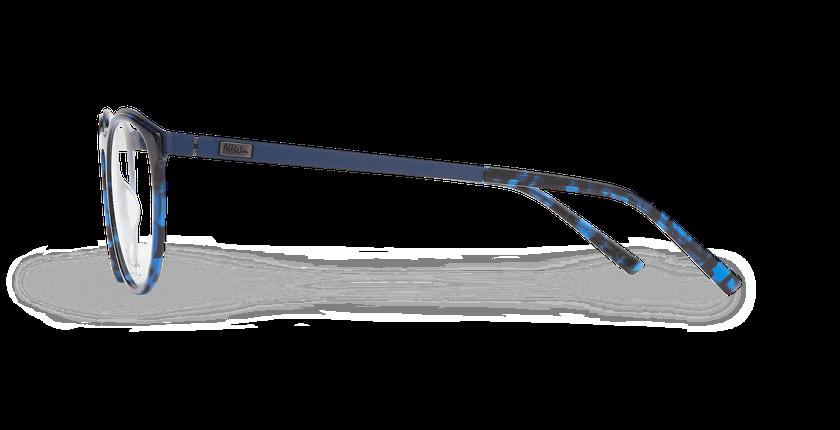 Lunettes de vue homme ALPHA13 bleu - Vue de côté