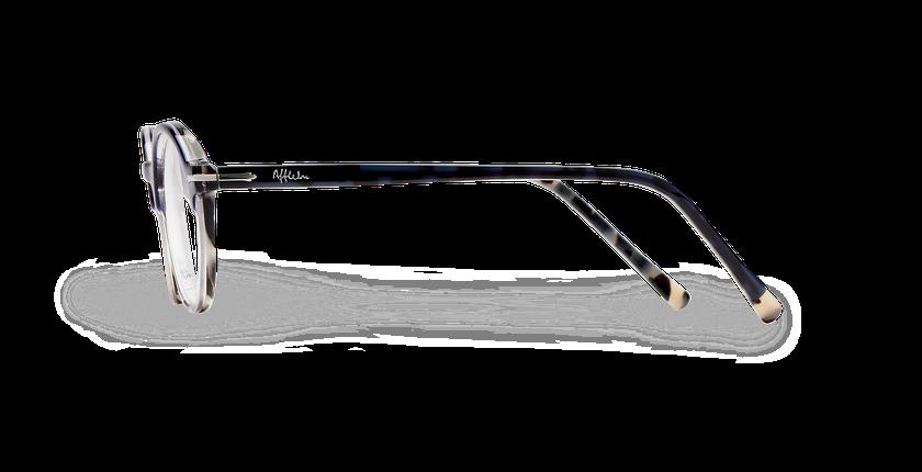 Lunettes de vue homme MORBIER bleu/gris - Vue de côté
