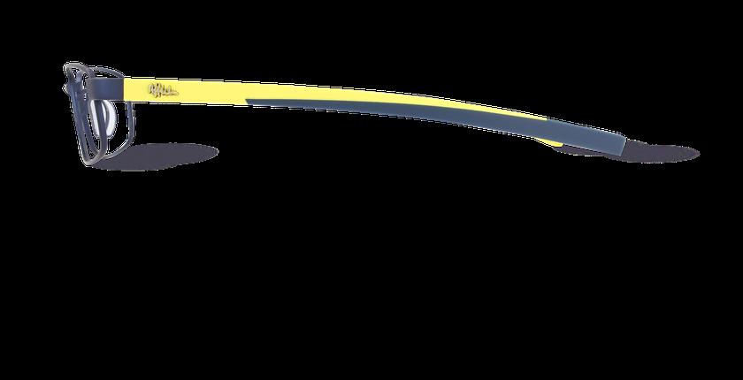 Lunettes de vue homme BORIS bleu - Vue de côté