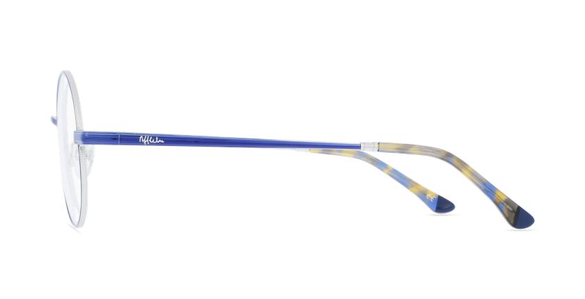 Lunettes de vue MAGIC 96 bleu/argenté - Vue de côté