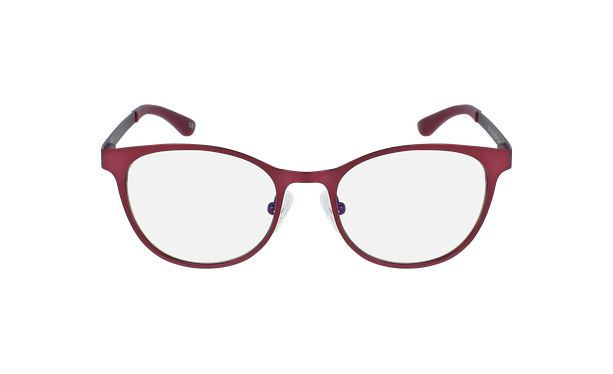 Lunettes de vue femme MAGIC 45 rouge/rose - Vue de face
