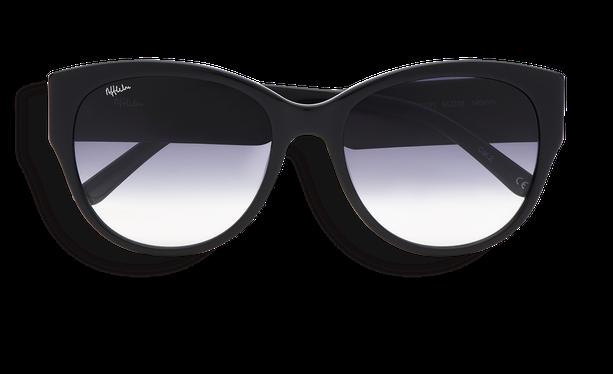 Lunettes de soleil femme CLAUDIA noir - danio.store.product.image_view_face