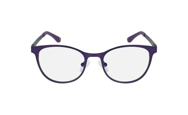 Lunettes de vue femme MAGIC 45 violet - Vue de face