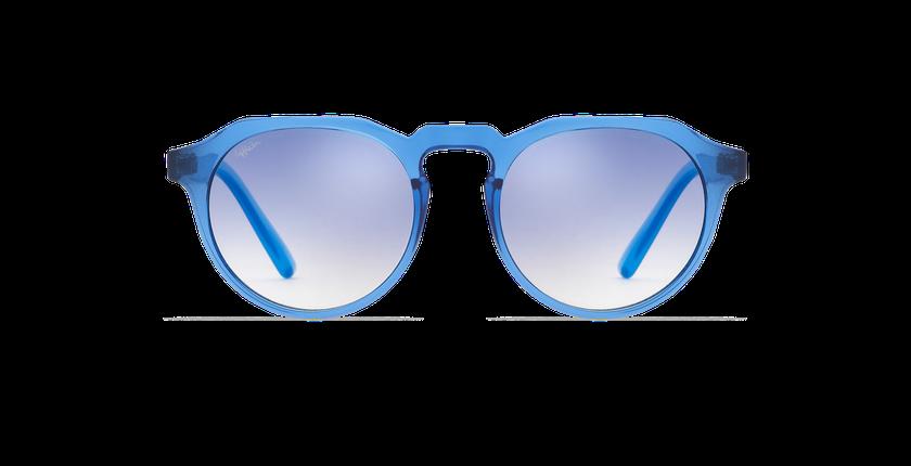 Lunettes de soleil VAMOS bleu - Vue de face