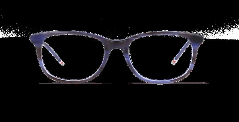 Lunettes de vue femme MARJOLAINE bleu - Vue de face