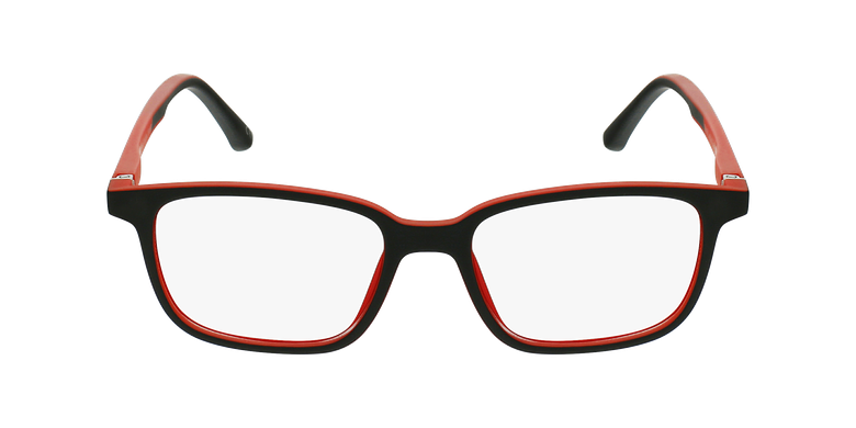 Lunettes de vue enfant MAGIC 76 noir/rougeVue de face