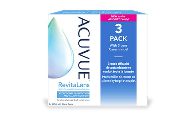Acuvue Revitalens 3 x 360 ml
