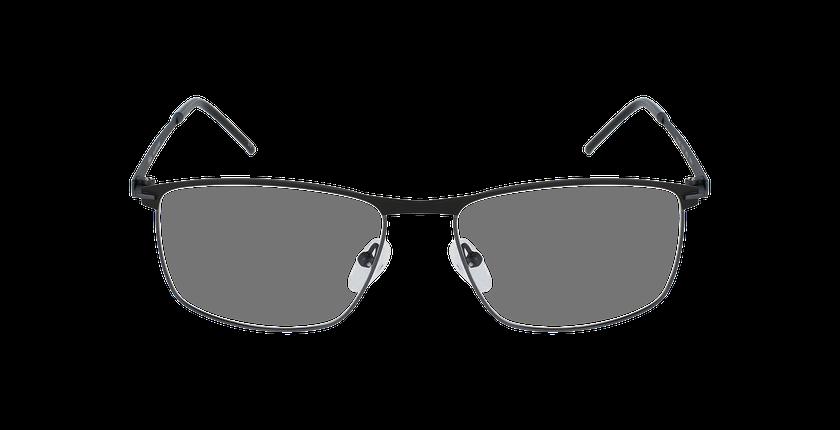 Lunettes de vue homme SATURNE noir/gris - Vue de face