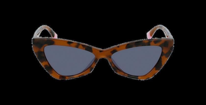 Lunettes de soleil femme VS0022 écaille - Vue de face