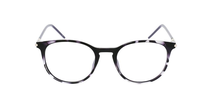 Lunettes de vue femme MAGIC 86 écaille/violet - Vue de face