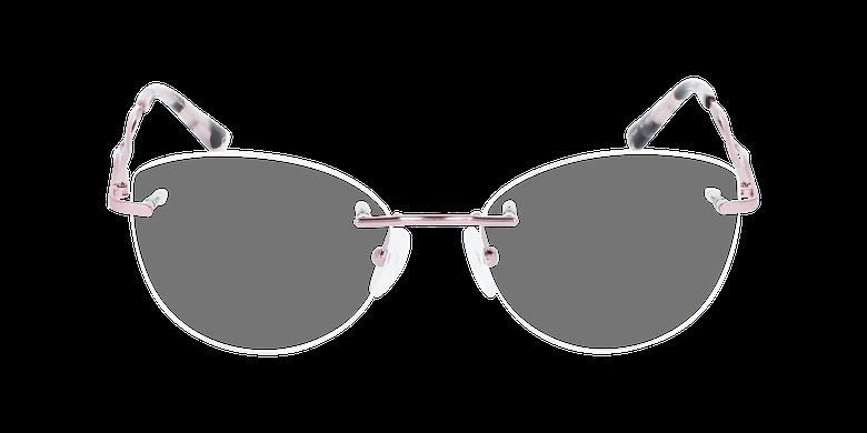 Lunettes de vue femme IDEALE-32 roseVue de face