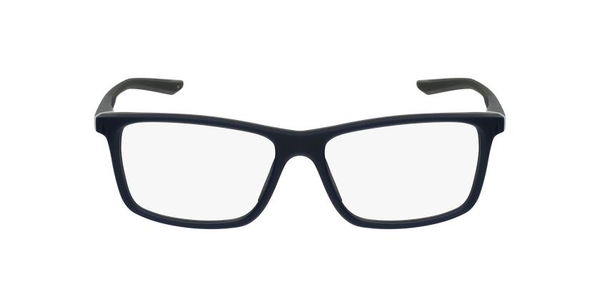 Lunettes de vue homme 7084 bleu/gris - Vue de face