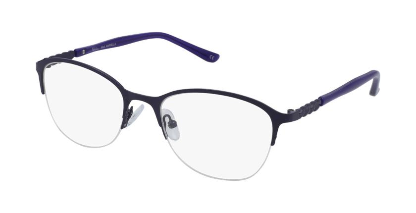 Lunettes de vue femme OAF20525 violet - vue de 3/4