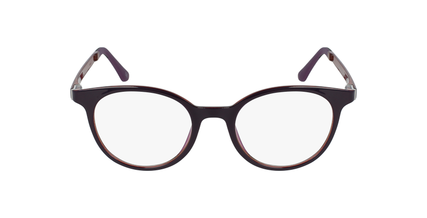 Lunettes de vue femme MAGIC 36 violet/rose - Vue de face