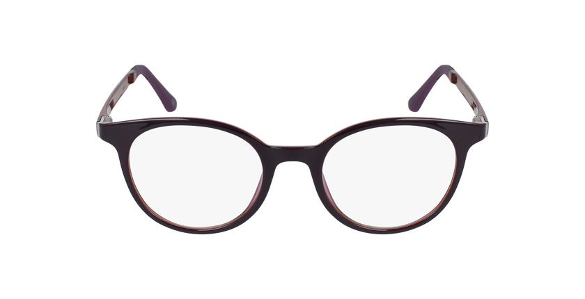 Lunettes de vue femme MAGIC 36 BLUEBLOCK violet/rose - Vue de face