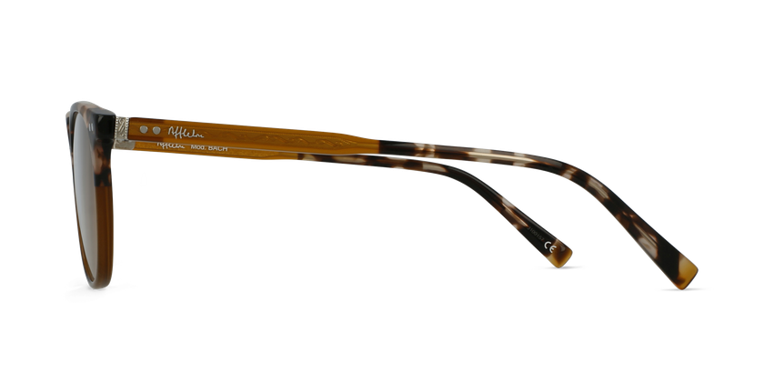 Lunettes de vue BACH marron - Vue de côté