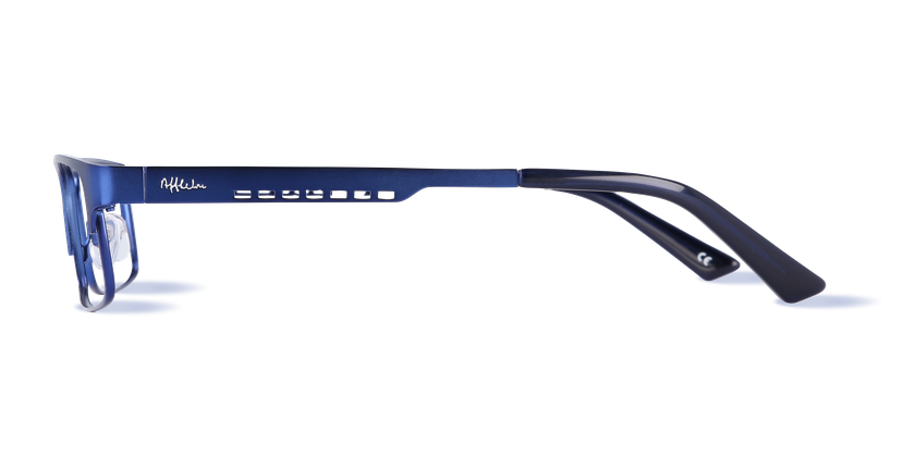 Lunettes de vue homme HUGO bleu - Vue de côté
