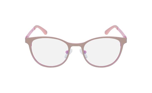 Lunettes de vue femme MAGIC 45 BLUEBLOCK gris/rose - Vue de face