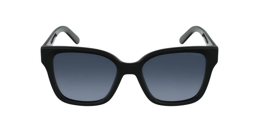Lunettes de soleil femme MARC 458/S noir - Vue de face