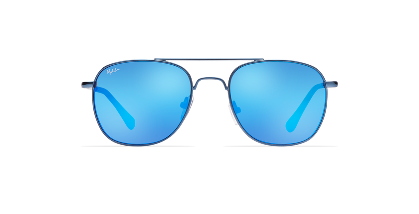 Lunettes de soleil enfant LIPEO bleu - Vue de face