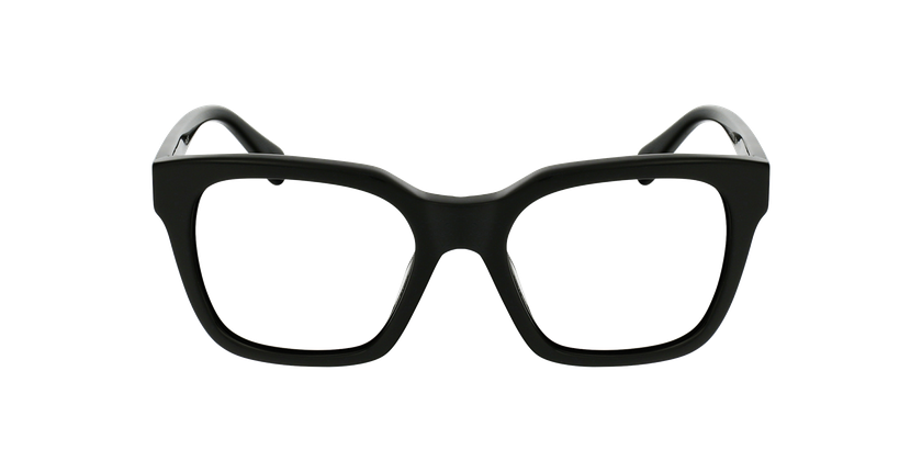 Lunettes de vue femme ALIENOR noir - Vue de face